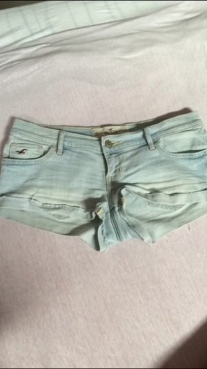 Hollister Hotpants Hellblau