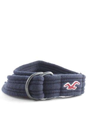 Hollister Hip Belt dark blue casual look