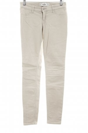 Hollister Low Rise jeans beige casual uitstraling