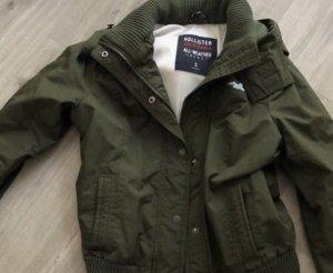 Hollister Bomber Jacket khaki