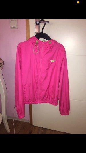 Hollister Windbreaker pink-khaki