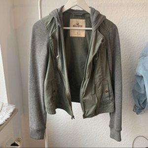Hollister College Jacket grey-green grey