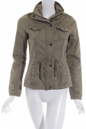 Hollister Jacke olivgrün Casual-Look
