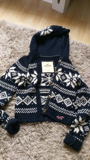 Hollister Jacke Wolle Warm S Muster