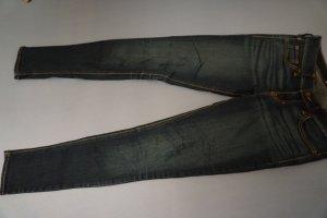 Hollister Skinny jeans donkerblauw