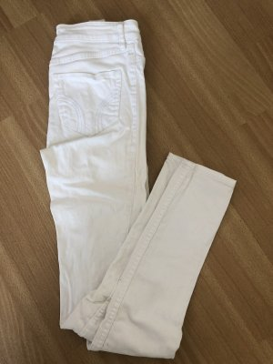 Hollister Hoge taille jeans wit