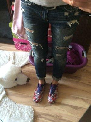 Hollister jeans 3R w26 L31 destroyed waschung jeans wie neu