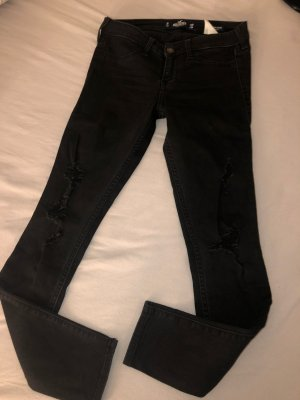 Hollister High Waist Jeans black