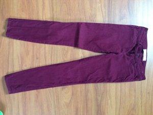 Hollister Jeans Bordeaux Gr. 25