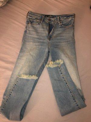 Hollister High Waist Jeans dark blue