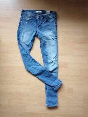 Hollister Low Rise Jeans neon blue