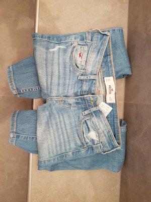 Hollister Jeans slim fit azzurro