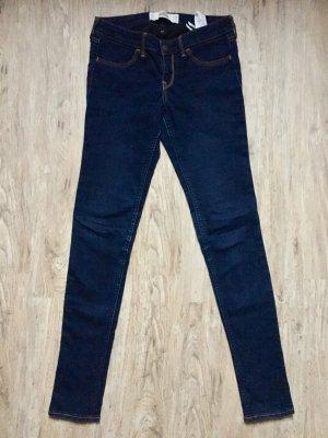 Hollister Jeans dunkelblau Gr W26 L 31