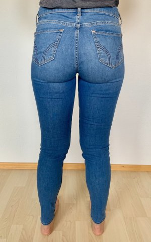 Hollister Low Rise jeans blauw-staalblauw