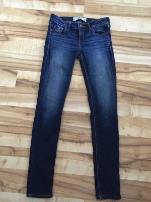 Hollister Jeans cigarette bleu-bleu foncé