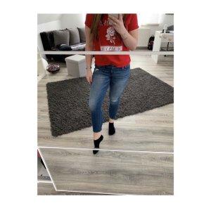 Hollister Pantalón de cintura alta azul-azul acero
