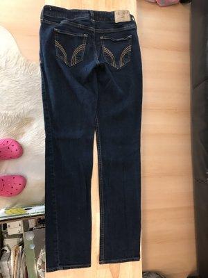 Hollister Jeans gr. 27/31 dunkelblau