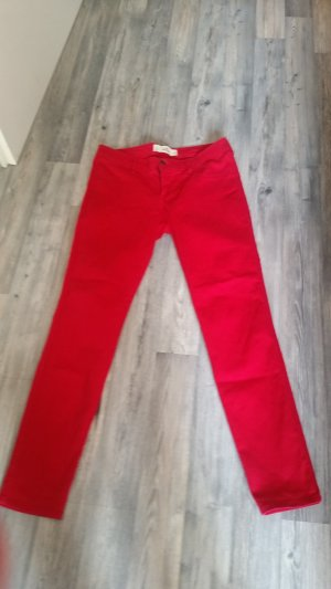 Hollister Drainpipe Trousers red