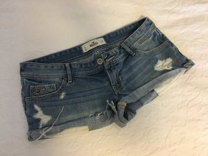 Hollister Jeans-Hotpants im Used Look