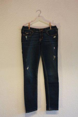 Hollister Jeans im Used-Look