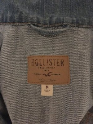 Hollister Jeans Jacke im Used Look