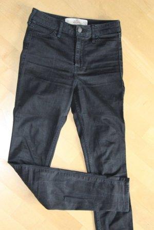 Hollister Hoge taille jeans zwart Gemengd weefsel