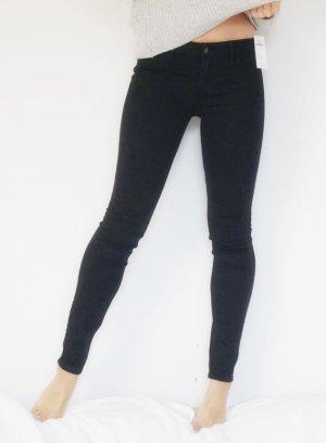 Hollister Jeans Jeggings schwarz weich bequem W25 W26 L 32 NEU mit Etikett