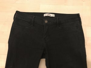 Hollister Jeans Leggins Super Skinny Hose schwarz 3R W26 L29 Low Rise Top