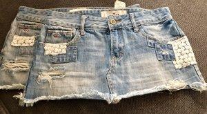 Hollister Jeans Mini Rock Gr 25 XS