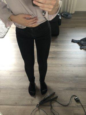 Hollister Jeans taille basse noir