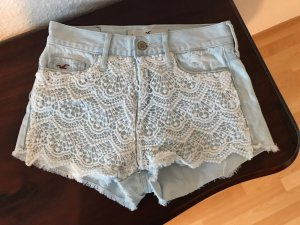 Hollister Jeans Shorts High Rise Hotpants Spitze XS