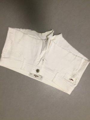 Hollister Jeans Shorts weiß Gr 7 W28