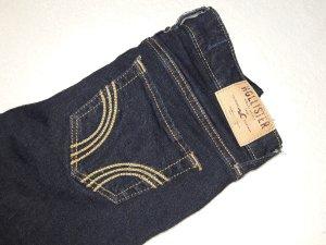 hollister jeans skinny dunkelblau w.23 l.31