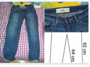 Hollister Jeans W 24