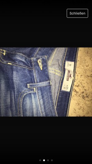 Hollister Low Rise jeans azuur