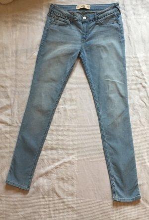 Hollister Jeans W28 L31 Hellblau