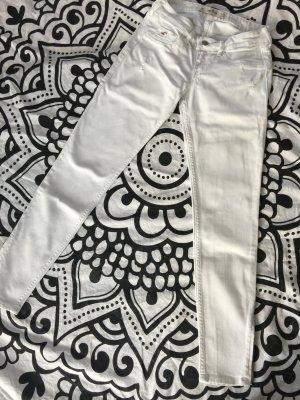 Hollister Jeans weiß Gr. W26 L29 Röhrenjeans