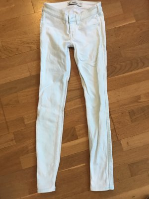Hollister Vaquero slim blanco-azul claro