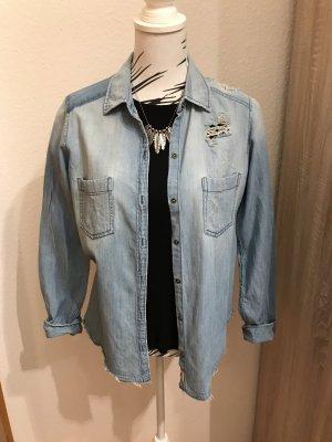 Hollister Denim Shirt blue