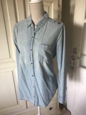 Hollister Jeans blouse azuur