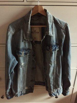 Hollister Jeansjacke Used und Oversized Look