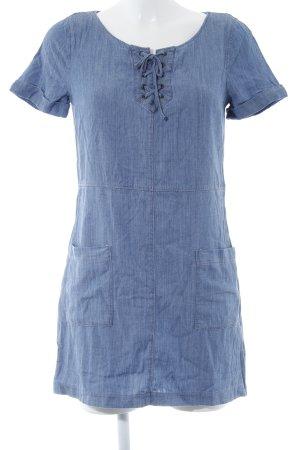 Hollister Jeanskleid stahlblau Casual-Look