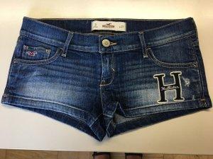 Hollister Pantalón corto de tela vaquera azul acero Algodón