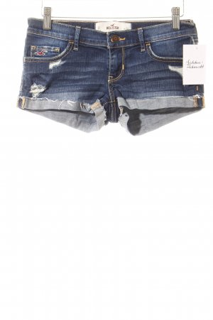 Hollister Jeansshorts blau Casual-Look