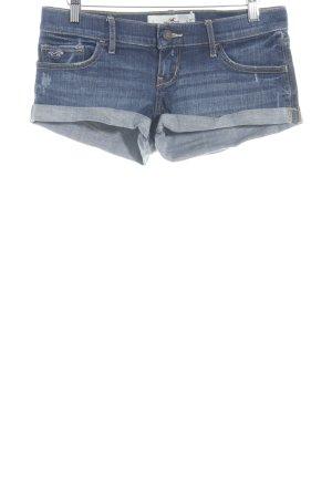 Hollister Jeansshorts blau Jeans-Optik