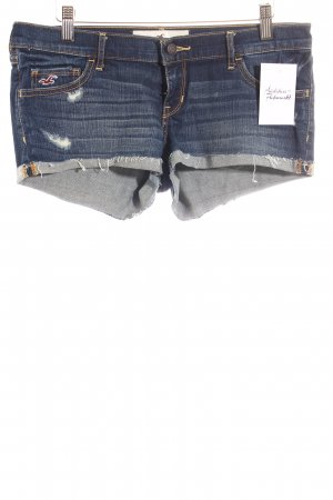 Hollister Jeansshorts dunkelblau Casual-Look