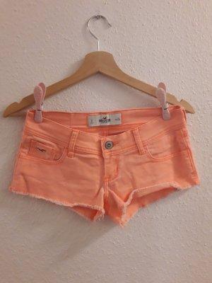 Hollister Pantaloncino di jeans arancione-arancio neon