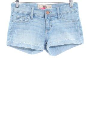 Hollister Pantaloncino di jeans azzurro stile casual