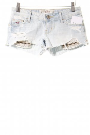 Hollister Jeansshorts himmelblau Casual-Look