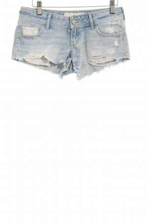 Hollister Jeansshorts himmelblau Casual-Look